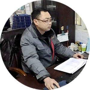Fei Huang/Production Manager Major in mechanical design and manufacturing, has 16 years of mechanical manufacturing technology and machinery manufacturing process management experience!